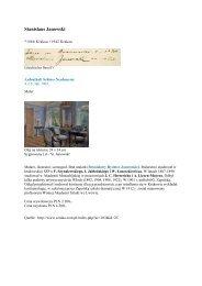 Stanislaus Janowski - Gästebücher von Schloss Neubeuern