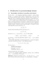 1 Predstavitev in poenostavljanje izrazov