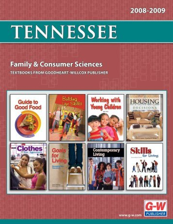 Family & Consumer Sciences 2008-2009 - Goodheart-Willcox