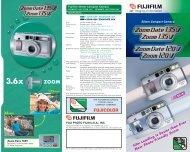 Zoom Date 135V Brochure - Fujifilm USA