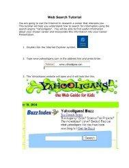 Web Search Tutorial - Franklin College