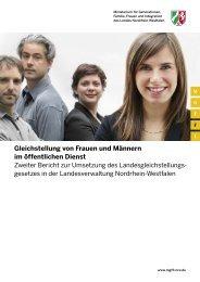 Gleichstellung von Frauen und Männern im ... - frauennrw.de