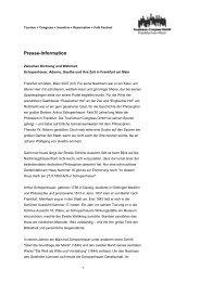 Presse-Information - Tourismus und Congress GmbH