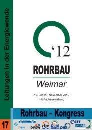 Anmeldung zum ROHRBAU-Kongress Hotelreservierung - FITR