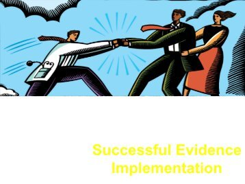 Successful Evidence Implementation - Guidelines International ...
