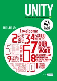 Unity 2011: FURD's annual newsletter - Football Unites, Racism ...