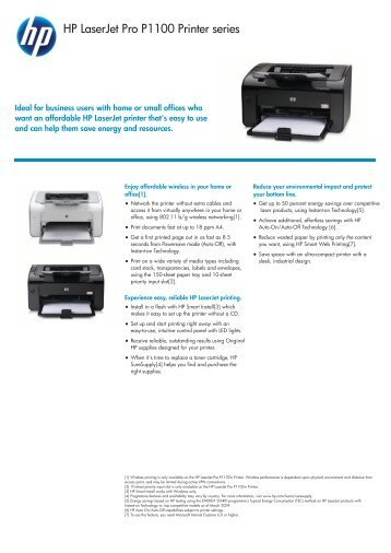 IPG HW Commercial Mono Laserjet datasheet - OK-beint