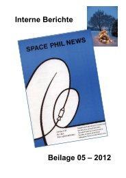 GWP CH-SPN Beilage 5/2012 - Gesellschaft der Weltall ...