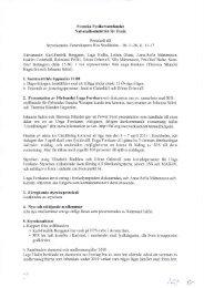 Styrelseprotokoll 101126 - Svenska Fysikersamfundet
