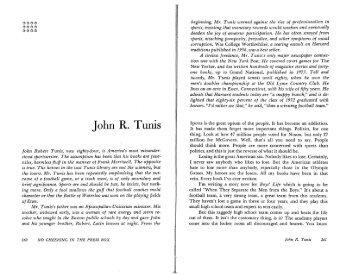 John R. Tunis - Matrix