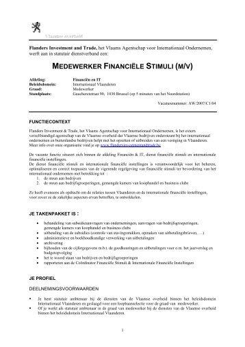 De afdeling - Flanders Investment & Trade