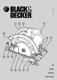 UK Ireland Australia New Zealand - Service - Black & Decker