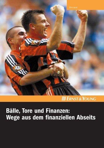 Bälle, Tore und Finanzen - Sponsors.de