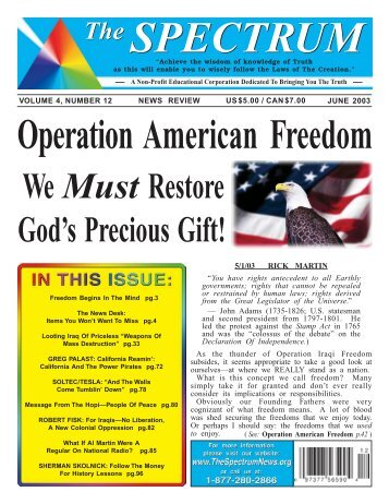 Operation American Freedom - Four Winds 10