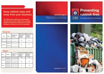 Download PDF: Preventing Rubbish Fires - New Zealand Fire Service