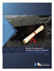 Student Perceptions of Graduation Support Programs in Louisiana ...