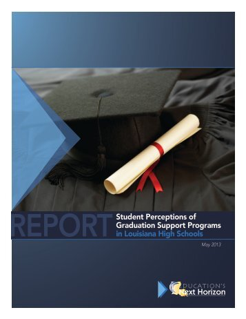 Student Perceptions of Graduation Support Programs in Louisiana ...