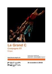 Le Grand C - Forum-Meyrin
