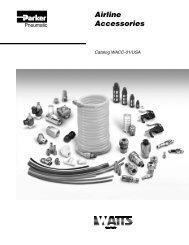 Watts Airline Accessories - Fluidraulics Inc