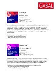 Presseinformation_neue 30 Minuten Audios - GABAL Verlag