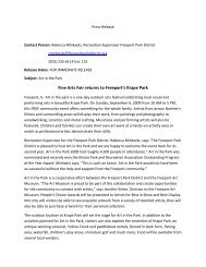 2009 Art in the Park Press Release.pdf - Freeport Park District