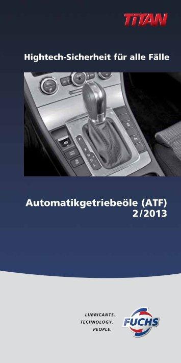 ATF - fuchs europe schmierstoffe gmbh