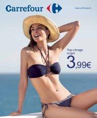 3,99€ - Carrefour