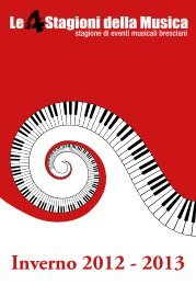 Inverno 2012 - 2013 - Fondazione ASM