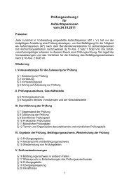 zum Download der Prüfungsordnung - FUK-Mitte