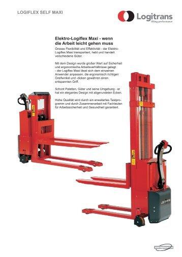 Elektro-Logiflex Maxi - wenn die Arbeit leicht gehen muss ... - Forklift