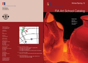 FIA Art School Catalog - the Flint Institute of Arts