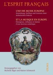 """""""L'esprit français"""" und die Musik Europas - ePrints Soton"""