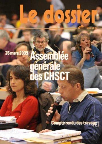 CHSCT 2009.pmd - Féderation - La cgt