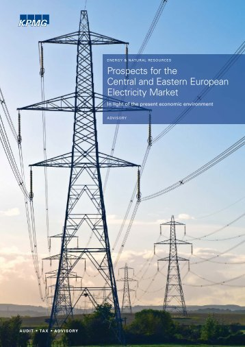 Prospects for The CEE Electricity Market Secured - KPMG