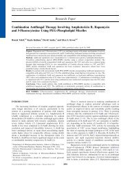 Research Paper Combination Antifungal Therapy Involving ...