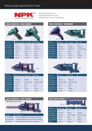 Heavy Duty Industrial Air Tools - Frank Drucklufttechnik