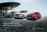 Finanzierung, Leasing und Versicherung für Pkw. - Mercedes-Benz ...