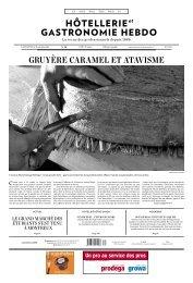 gRuyèRE cARAmEl Et AtAvismE - Hotellerie et Gastronomie Verlag