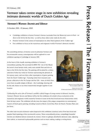 Press Release - The Fitzwilliam Museum