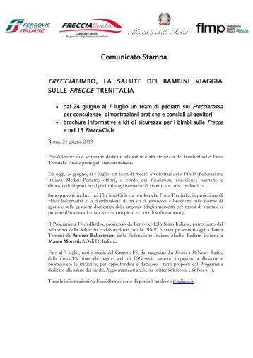 Comunicato stampa (.pdf 177 KB) - FSNews