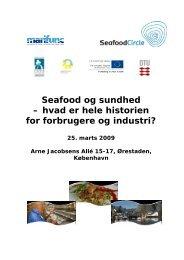 Seafood og sundhed – hvad er hele historien for forbrugere og ...