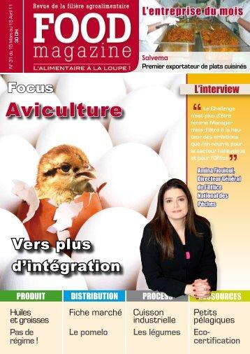 Aviculture - FOOD MAGAZINE
