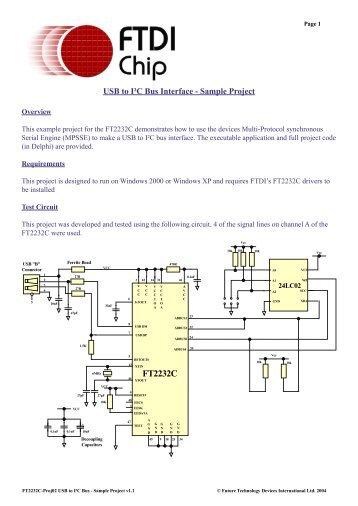 FT2232C - FTDI