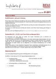 Infobrief 1-2011 - BFAS