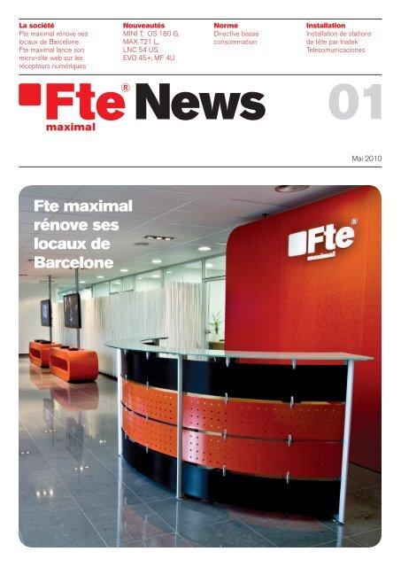 Voir le pdf - FTE Maximal