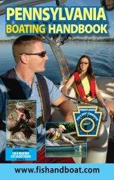 Pennsylvania Boating Handbook - Pennsylvania Fish and Boat ...