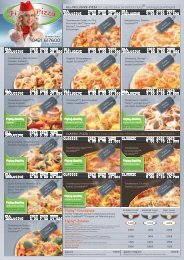 PDF Speisekarte zum Download - Flying Pizza