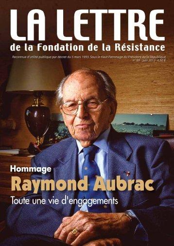 Télécharger au format PDF (1.3 Mo) - Fondation de la Résistance