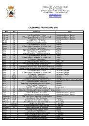 Calendario Deportivo 2010 - Federación Navarra de Hípica