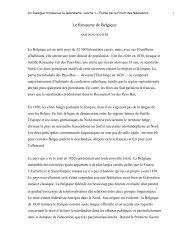 Le Royaume de Belgique- Kris Deschouwer - Forum of Federations